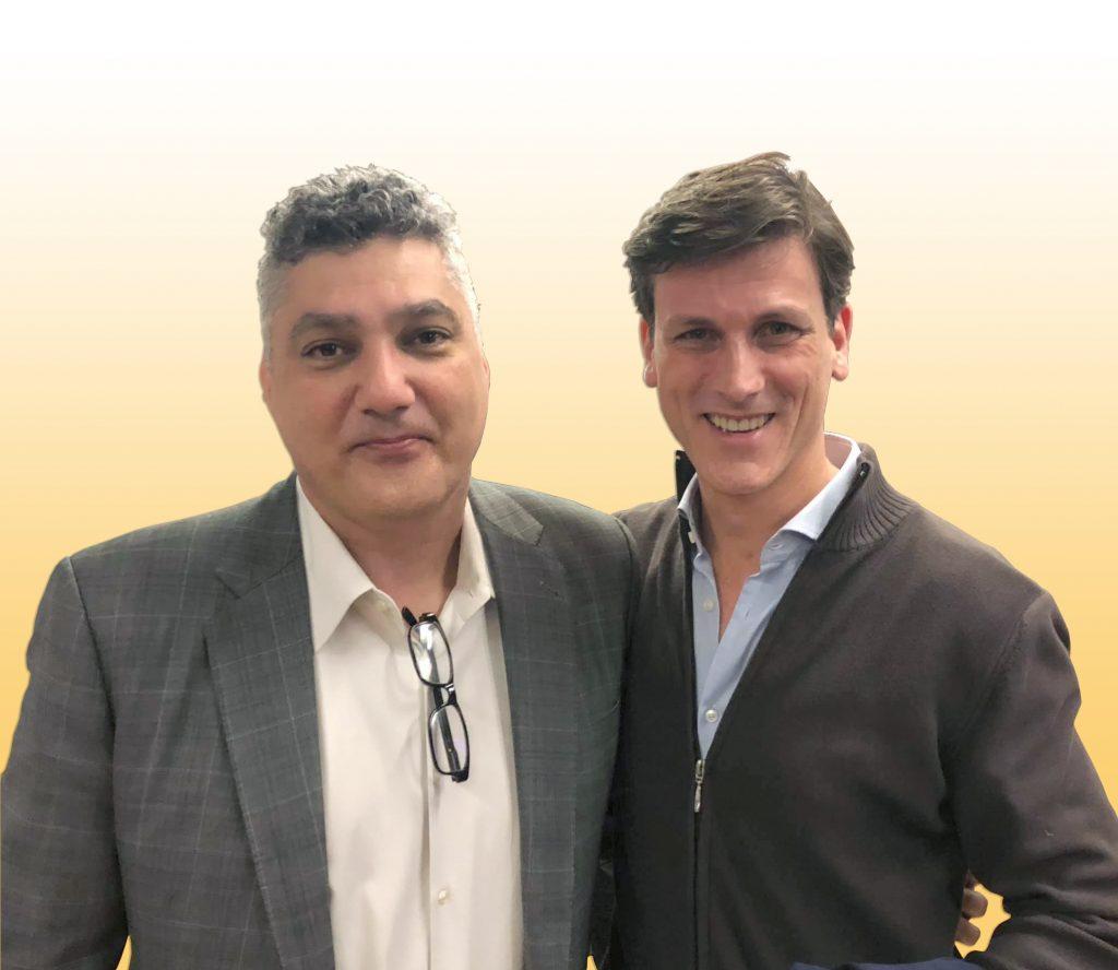 Dr. Armen Mirzayan (left) and Roddy MacLeod